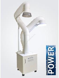 Вытяжка для маникюра, педикюра и кератина «CRYSTAL ECO Standard Power Ma ...
