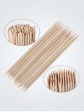 Апельсиновые палочки для маникюра (100 штук)