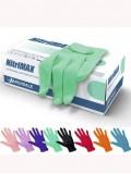 Перчатки САЛАТОВЫЕ нитриловые «NitriMAX», 50 пар