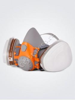 Полумаска-респиратор для защиты дыхания от вредных летучих соединений
