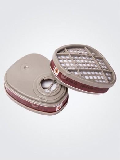 Фильтры для защиты от вредных органических газов и паров (две штуки)