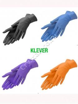 Перчатки нитриловые «Klever», 50 пар