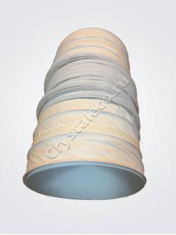 Воздуховод гибкий в комплекте с соединительными элементами CRYSTAL ECO.