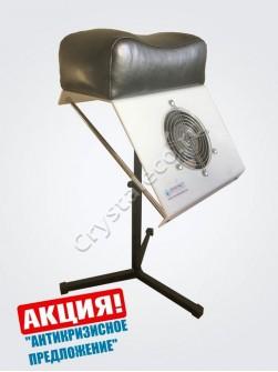 Пылесос для педикюра «CRYSTAL ECO Compact» 65 Вт, с педикюрной подставко ...