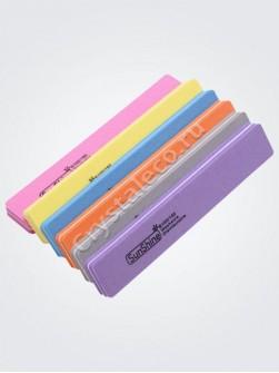 Пилка-баф «SUNSHINE» прямоугольник 100/180 в упаковке (10 штук)