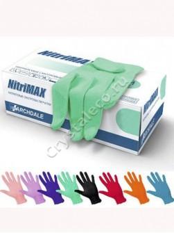 Перчатки нитриловые «NitriMAX», 50 пар