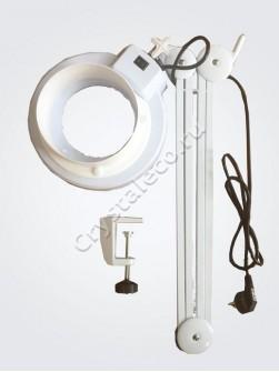 Лампа доработанная люминесцентная «K-5X» на струбцине