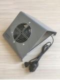 Настольный пылесос для маникюра «CRYSTAL ECO Compact» 65 Вт, прозрачный