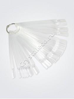 Палитра веер для демонстрации лаков на кольце (50 типс)