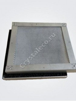 Фильтр-кассета РАЗБОРНАЯ с сорбентом для вытяжек CRYSTAL ECO